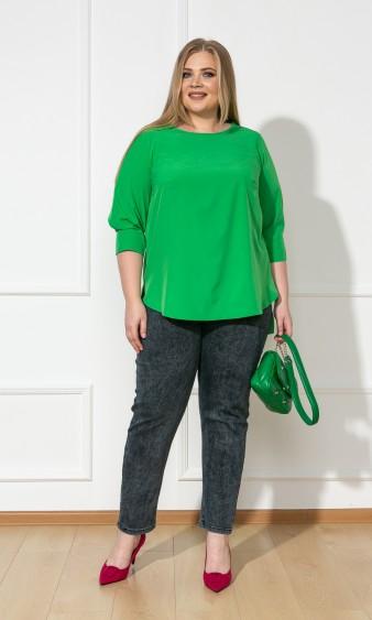 Блуза 0220-1 зеленый