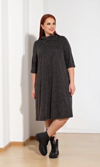 Платье 0238-1 черный