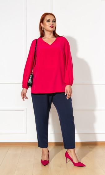 Блуза 0059-26 малиновый